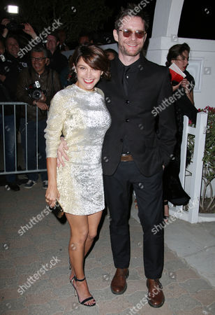 Stock Picture of Emma de Caunes and Jamie Hewlett