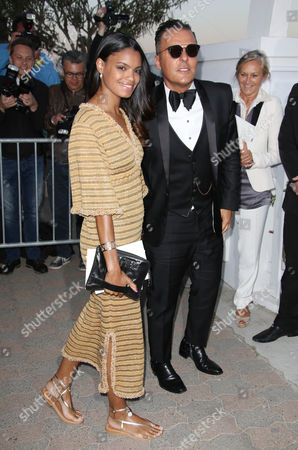 Stock Picture of Jean-Roch Pedretti and Anais Monory