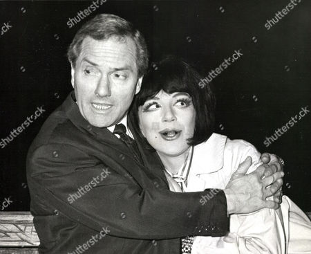 Comedian Dick Emery And Actress Fenella Fielding. Box 0563 140515 00489a.jpg.