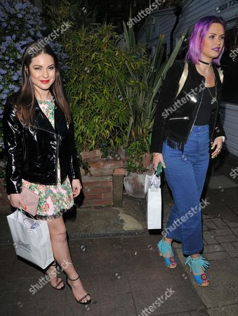 Louise Thompson and Emily Weller