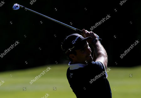 Stock Photo of Eduardo Molinari during the opening round of the BMW PGA Championship.