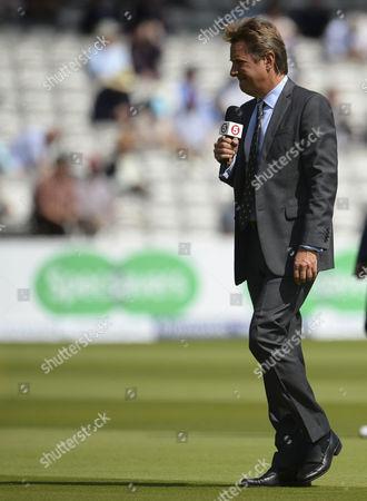 Channel 5 Cricket presenter Mark Nicholas
