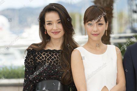 Shu Qi and Nikki Hsin-Ying Hsieh