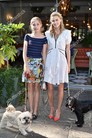 Freya Air Aspinall and Donna Air