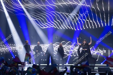Editorial picture of Eurovision Song Contest, 2nd Semi-Final, Vienna, Austria - 21 May 2015