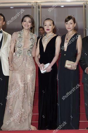 Shu Qi, Sheu Fang-Yi and Hsieh Hsin-Ying
