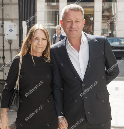 Tribute To Actor Bill Pertwee At A Memorial In London. Actor Sean Pertwee And Wife Jacqui Hamilton Smith. 14.5.14.
