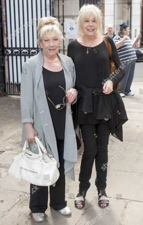 Tribute To Actor Bill Pertwee At A Memorial In London. Actress Jean Ferguson. 14.5.14.