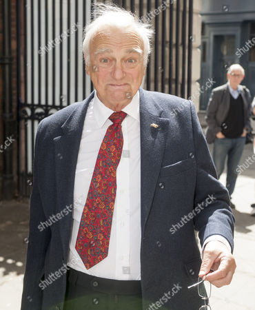 Editorial photo of Tribute To Actor Bill Pertwee At A Memorial In London. Roy Hudd.