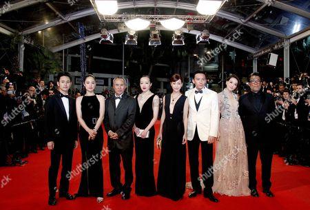 Chang Chen, Shu Qi, Sheu Fang-Yi, Zhou Yun, Hou Hsiao-Hsien, Nikki Hsin-Ying Hsieh, Satoshi Tsumabuki