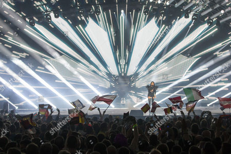 Editorial image of Eurovision Song Contest Grand Final, Vienna, Austria - 23 May 2015