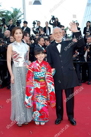 Masahiko Tsugawa, Asaka Seto and Rio Suzuki