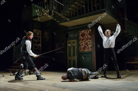 Editorial picture of 'The Beaux' Stratagem' performed at the Olivier, National Theatre, London, Britain - 22 May 2015
