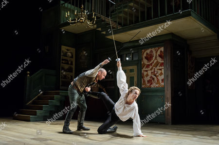 Editorial photo of 'The Beaux' Stratagem' performed at the Olivier, National Theatre, London, Britain - 22 May 2015