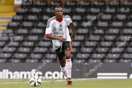 Stock Photo of Fulham Legend John Pantsil Shooting Stars Chase Cup 2015 - Celebrity match against Fulham Legends