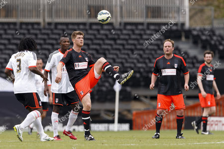 Editorial image of Shooting Star Chase Cup 2015 - Fulham All Stars v Sealand All Stars Craven Cottage, Stevenage Rd, London, United Kingdom - 23 May 2015