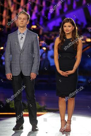 Jason Dolley and Stefanie Scott