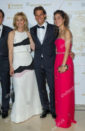 Ana Maria Parera, Rafael Nadal, girl friend Xisca