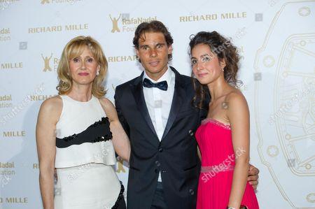 Ana Maria Parera, Rafael Nadal, girlfriend Maria Francisca Perello