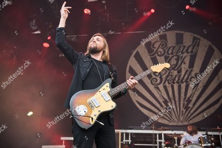 Stock Picture of Russell Marsden of Band of Skulls