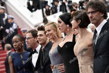 Ethan Coen, Rokia Traore, Xavier Dolan, Sienna Miller, Joel Coen, Sophie Marceau, Rossy De Palma