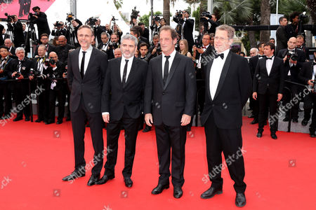 Christophe Rossignon, Vincent Lindon, Stephane Brize, Philip BoIiffard