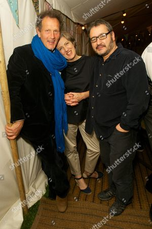 Monty Don, Becky Shaw and Peter Florence