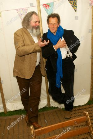 John Mitchinson and Monty Don