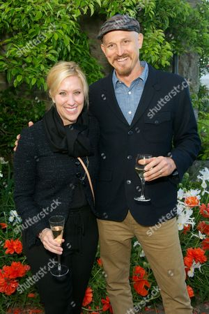 Stock Picture of Laura Schwab and Mick Ebeling