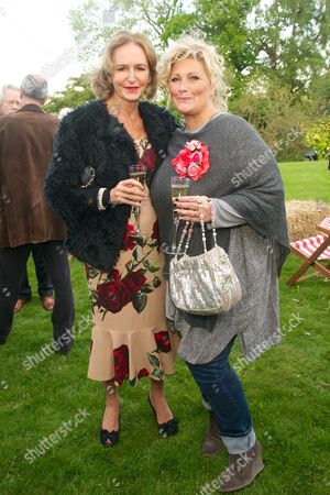 Caroline Michel and Amanda Prowse