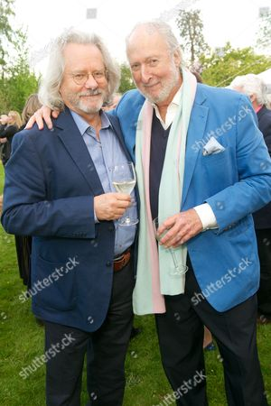 Professor Anthony Grayling and Ed Victor