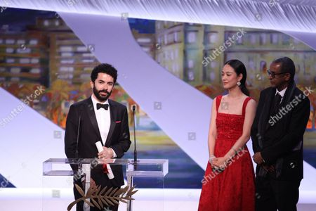 Editorial picture of 'Ice and the Sky' premiere and closing ceremony, 68th Cannes Film Festival, France - 24 May 2015