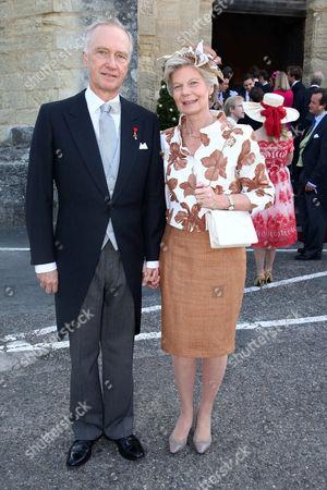 Archduke Carl Christian von Habsburg-Österreich and wife Marie-Astrid