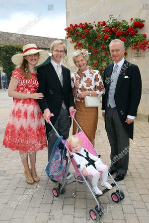 Editorial photo of The wedding of Caroline von Neipperg and Philippe von Limburg Stirum, Saint Emilion, France - 23 May 2015