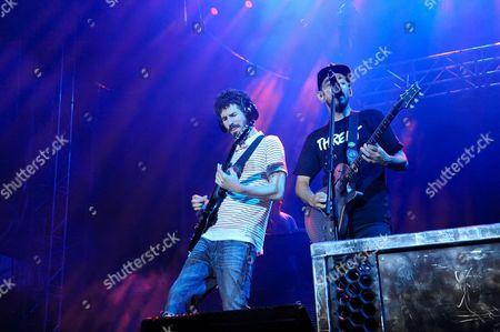 Linkin Park - Brad Delson and Mike Shinoda