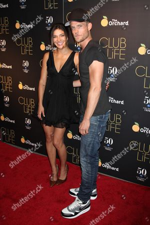 Stock Image of Jessica Szohr and Ethan Russell