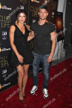 Jessica Szohr and Ethan Russell