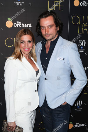 Stock Photo of Constantine Maroulis and Angel Reed