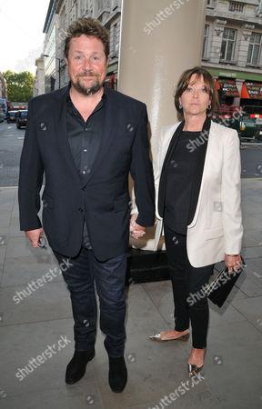 Michael Ball and Cathy McGowan