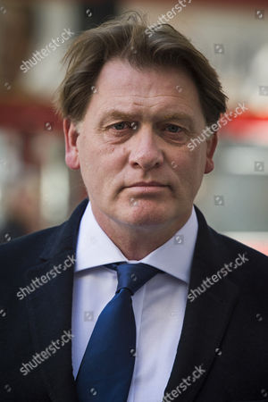 Former member of parliament for Falkirk West and Falkirk Eric Joyce arriving at Westminster Magistrates Court in London where he is due to be sentenced after being found guilty of two counts of common assault