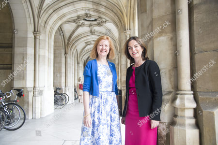 Victoria Borwick MP for Kensington and Lucy Allen MP for Telford