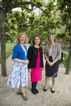 Victoria Borwick MP for Kensington (left), Lucy Allen MP for Telford (centre) and Andrea Jenkyns MP for Morley and Outwood (right)