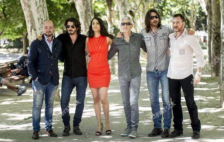 Guest, Yon Gonzalez, Esther Mendez, Antonio Hernandez, Aitor Luna and Ben Temple