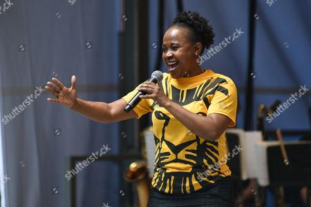 Stock Image of Gugwana Dlamini, 'The Lion King'