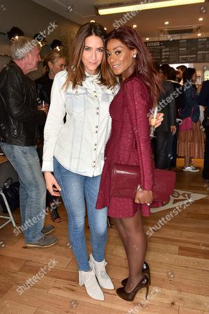 Lisa Snowdon and Phoebe Vela
