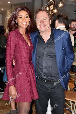 Phoebe Vela and John Hitchcox