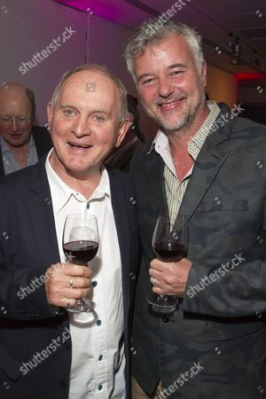 Stock Picture of Howard Davies (Director) and Tim Hatley (Designer)