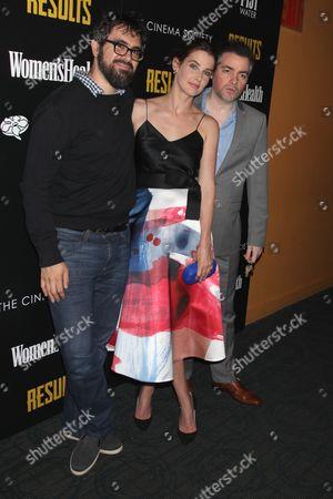 Director Andrew Bujalski, Cobie Smulders and Kevin Corrigan