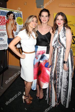 Laura Frerer-Schmidt, Cobie Smulders and Amy Keller Laird