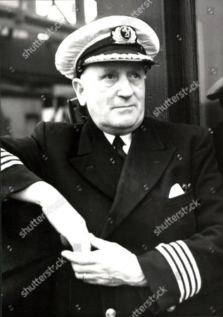 Captain James Alex Bell Of The Lairdsmoor Awarded Mbe For His Rescue Work During The Princess Victoria Ferry Disaster.
